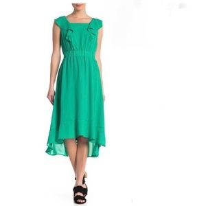 NWT SPENSE square neck midi dress size 2